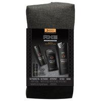 Axe dark temptation gift bag (body spray / body wash / antiperspirant / bonus travel body spray), 4 pieces