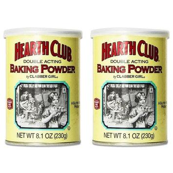 Clabber Girl Hearth Club Baking Powder, 8.1 oz.