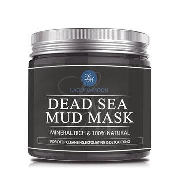 Lagunamoon 24K Gold Facial Mask 8.8 oz Gold Face Mask for Anti Aging Anti Wrinkle Facial Treatment Pore Minimizer, Acne Scar Treatment & Blackhead Remover 250g