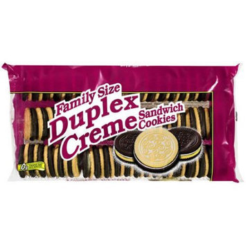Great Value: Family Size Duplex CrA Me Sandwich Cookies, 25 Oz