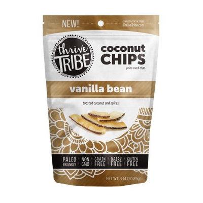Thrive Tribe Coconut Chips, Vanilla, 3.14 Oz
