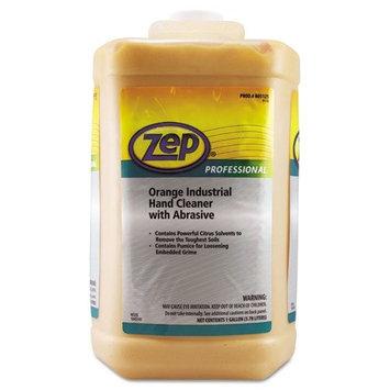 Zep Professional Industrial Hand Cleaner, Orange, 1gal Bottle - Includes four bottles.
