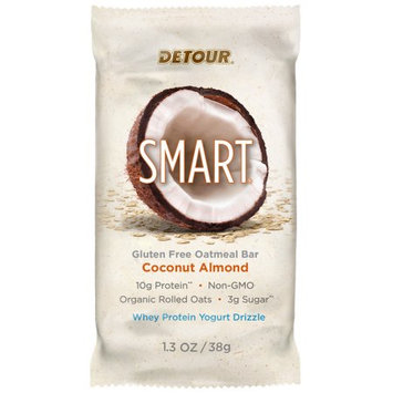 Forward Foods, Llc Detour SMART Coconut Almond Whole Grain Oatmeal Protein Nutrition Snack Bar, 1.3 oz, 1 count