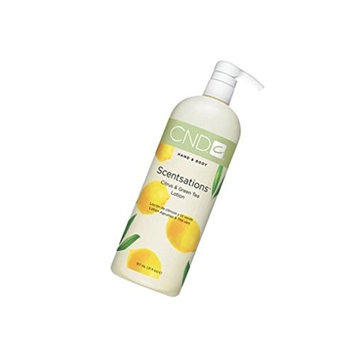 Lotion Hand and Body Scentsations Lotions CITRUS & GREEN TEA Big Harmonious blends of fresh, clean fragrances are like candy for the senses : Size 31 fl oz