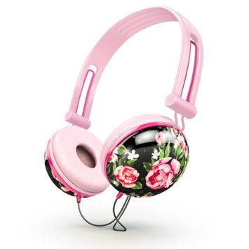 Ankit pastel black floral headphones?