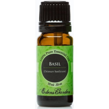Edens Garden Basil 10 ml 100% Pure Undiluted Therapeutic Grade Essential Oil GC/MS Tested