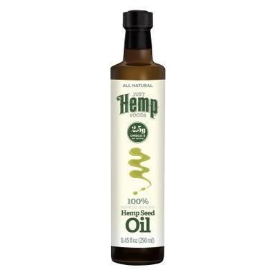 Just Hemp Foods 261893 8.5 oz. Seed Hemp Oil Glass