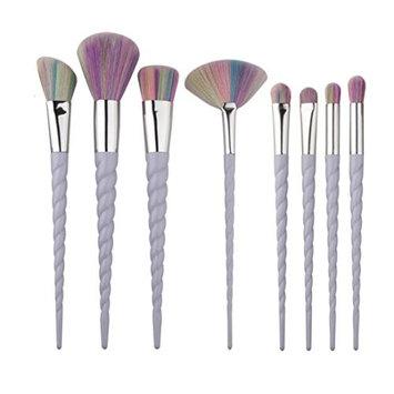 OVERMAL 8PCS Make Up Foundation Eyebrow Eyeliner Blush Cosmetic Concealer Brushes