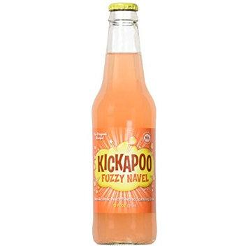 Kickapoo Fuzzy Navel Drink, Peach, 12 OZ (Pack of 12)
