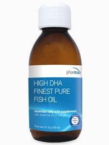 Pharmax - High DHA Finest Pure Fish Oil Natural Orange Flavor - 5.1 oz.