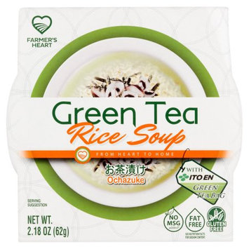 Nongshim America Inc Farmer's Heart Green Tea Rice Soup 2.18 oz