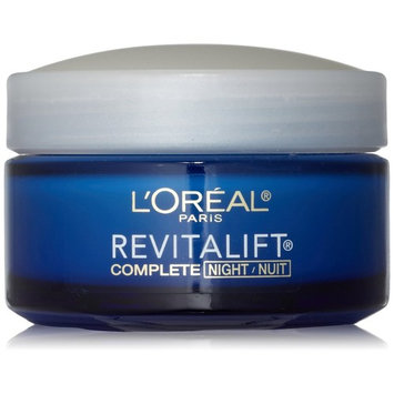 L'Oreal Paris, RevitaLift Anti-Wrinkle + Firming Night Cream Moisturizer 1.7 oz (Pack of 2)