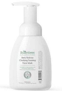 Bullenbees Skin Care Beta Hydroxy Foaming Face Wash for Oily to Normal Skin