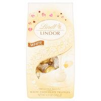 Lindt Lindor White Chocolate Truffles, 8.5 oz