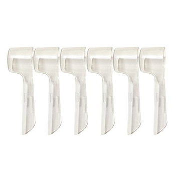 ROSENICE 6pcs Electric Toothbrush Heads Cover Brush Head Case for Travel and More Sanitary To Keep Germs Dust Away for Better Health
