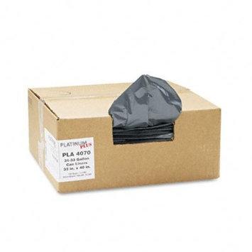 Can Liner, Super Hexene Resin 31-33gal, 1.35mil, 40 x 33, 100/Carton, Sold as 1 Carton