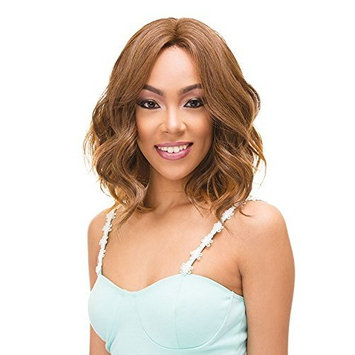 Janes Collection Synthetic Super Flow Deep Part Lace Front Wig - LUNA (PFS1B/30)