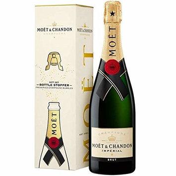 Moet & Chandon Imperial Brut w/ Bottle Stopper, Champagne, 750 ml
