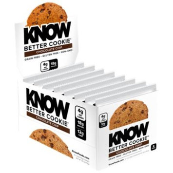 KNOW Better Cookies - CHOCOLATE CHIP (8 Cookie(S)) by KNOW Foods at the Vitamin Shoppe