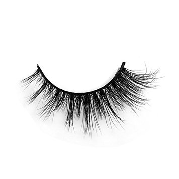 3D Mink Natural Lashes 100% Mink Fur Hand-made False Eyelashes for Women's Makeup 1 Pair Package H1001A
