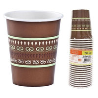 Hanna K Signature 2184906 9 oz Earthtones Paper Hot-Cold Cup - Pack of 36 & 24 per Pack