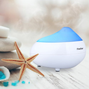 Finether GX - 05K 110ml Portable Essential Oil Aroma Diffuser Ultrasonic Humidifier Air Aromatherapy Purifier LED Light