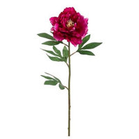 Pack of 12 Two-Tone Magenta Peony Flower Artificial Floral Craft Sprays 27