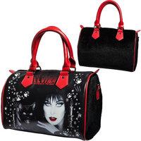 Elvira Black Cat Purse Goth Chic Style Kreepsville Halloween Handbag Faux Fur