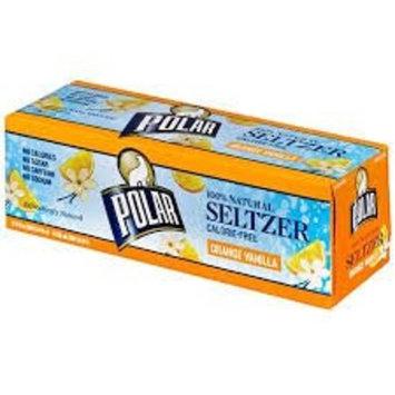 Polar Orange Vanilla Seltzer, 12 fl oz, 12 pack
