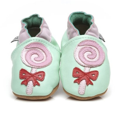 Soft Leather Baby Shoes Lollipop 6-12 months