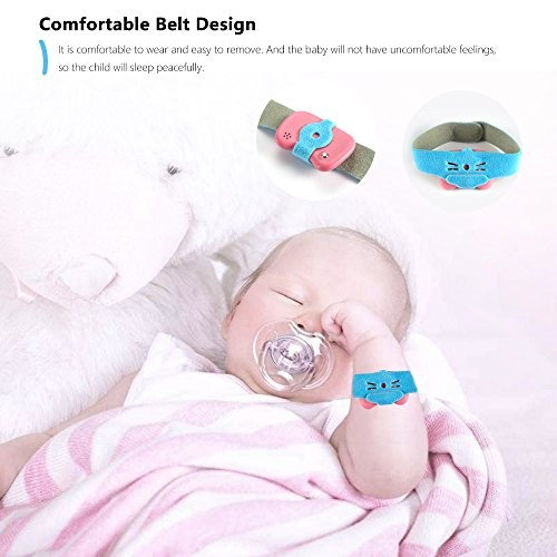AOZBZ Baby Smart Thermometer, Wireless Bluetooth 4.0 Phone 24HR Fever Monitoring with Mobile Alerts, History Record