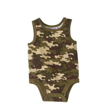 Garanimals Baby Boy Print Tank Bodysuit