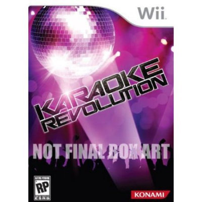 Konami Digital Entertainment Karaoke Revolution Bundle (includes microphone)