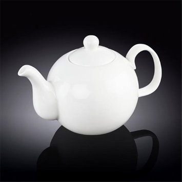 Wilmax 994016 1100 ml Tea Pot White - Pack of 18