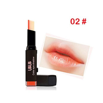 Jinjin Beautiful bright crystal jelly change Discoloration Temperature Change Color lipstick Magic makeup