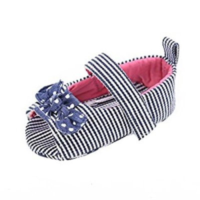 Ouneed Lovely Baby Girl Bow-knot Princess Shoes Anti-slip Crib Shoes