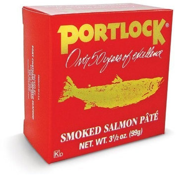 Portlock Smoked Salmon Pate 3.5 Oz (Pack of 4)