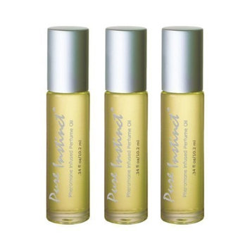 Pure Instinct Roll on 3 Pack - Pheromone Infused Perfume/cologne