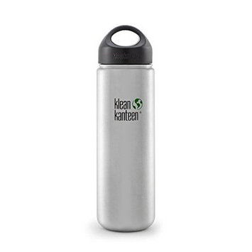 Klean Kanteen Wide Mouth 355Ml Vacuum Insulated Bottle (Brushed Stainless)