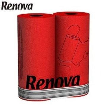 Red Paper Towels 2 Pack- Renova