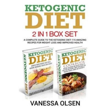Createspace Publishing Ketogenic Diet-2 in 1 Box Set-A Complete Guide to the Ketogenic Diet-115 Amazing Recipes for Weight Loss and Improved Health