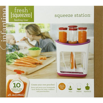 Infantino Squeeze Station and Pouches Feeding Kit …