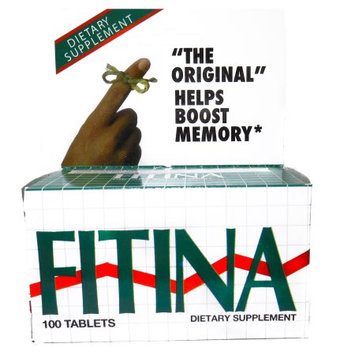 Menper Fitina Memory Support Supplement 100 Tablets