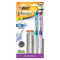 Bic MPFSCP21 Velocity Side Clic Mechanical Pencil with Refill