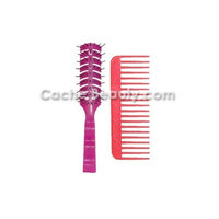 Bobby Vent Brush Purple With Free Volumizing Comb