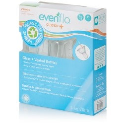 Evenflo Classic + Vented Glass Bottle