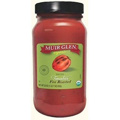 Muir Glen Organic Tomatoes, Diced, Fire Roasted, 23 Oz
