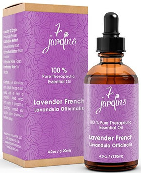 7 Jardins 100% Pure Essential Oil Therapeutic Aromatherapy French Lavender 4 oz