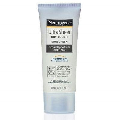 Neutrogena Ultra Sheer Dry-Touch Sunscreen, SPF 100 3.0 oz.(pack of 2)