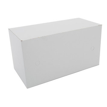Southern Champion Tray 2745 Clay Coated Kraft Paperboard Patty Meat Box, Tuck Top, 5 lbs Capacity, 10